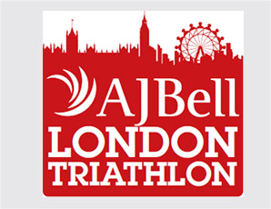 AJ Bell London Triathlon logo