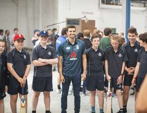 New Balance England Cricket Kit Launch Event