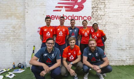 NEW BALANCE ENGLAND CRICKET KIT LAUNCH