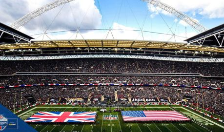 The Jacksonville Jaguars come to London