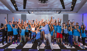 Lucozade Sport Fitwater Launch